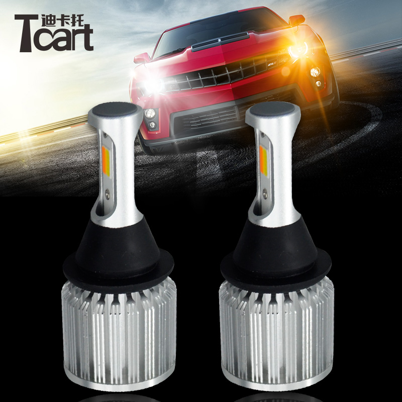 Tcart 1Set High Power Auto Led CoB Lamp 1157 BA15D Yellow Turn Signals Dual Color Switchback White Car DRL Daytime Running Light tcart 1set car drl daytime running lights turn signals auto led bulbs white golden lamps 1157 for hyundai genesis coupe 2014