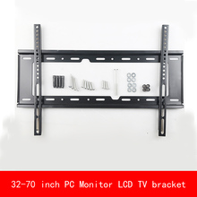 VESA standard Universal 32-70 inch adjustable plasma PC Monitor LCD TV bracket Display TV wall mount black stent tv ceiling display hanger lift manual lifting 14 32 45 50 55 inch 65 70 inchs universal tilting and fixing plasma lcd led ultra