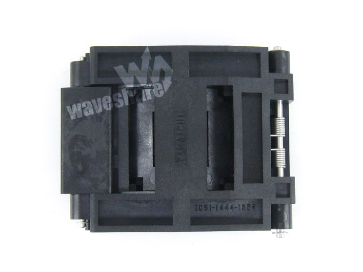 module QFP144 TQFP144 FQFP144 PQFP144 IC51-1444-1354-7 Yamaichi QFP IC Test Burn-in Socket Programming Adapter 0.5mm Pitch import block adapter ic51 0562 1387 adapter tsop56 test burn