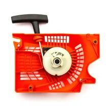 1 قطعة البرتقال سحب بادئ حركة ارتدادي ل الصينية بالمنشار 4500 5200 5800 4900 45cc 52cc 58 بادئ حركة ارتدادي s