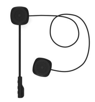 Универсальный Bluetooth 5,0 поколение мотоциклетный шлем гарнитура беспроводная Bluetooth 5,0 динамик «скутер» Громкая связь вызов музыка играть