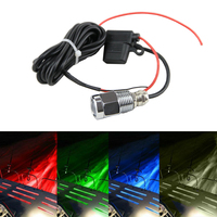 1x 9W Drain Plug Light DC8 28V Led Underwater Marine Light Blue Red Green White For Boat Fishing With Waterproof Connectors