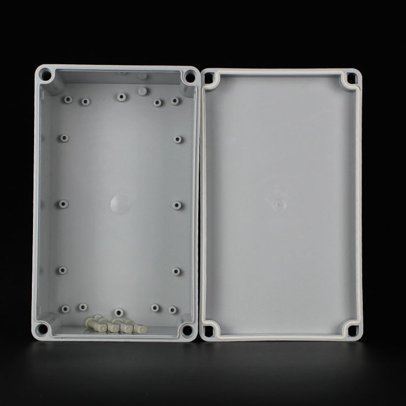 New Plastic Electronic Project Box 250x150x100mm DIY Enclosure Instrument Case Outdoor electrical wiring safety protection box