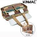 KINMAC ноутбук чехол случайный плечо сумка для ноутбука Для Macbook Apple HP Lenovo 13 14 15 дюймов
