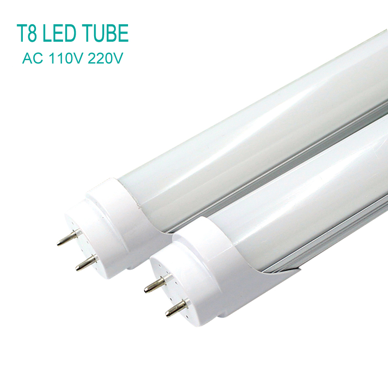 T8 LED Tube Light Fluorescent 600mm SMD 2835 10W 220V 110V Cold/Warm Light Modulator Integrated Tubo Lampada Bulb LED Tube Lamp integrated led tube light t8 1200mm 4ft 18w led fluorescent lamp epistar smd 2835 30pcs lot