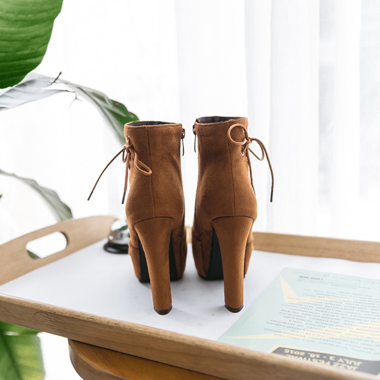 Big Size 9 10 11 12 boots women shoes ankle boots for women ladies boots Waterproof tablecloth side zipper fastenerBig Size 9 10 11 12 boots women shoes ankle boots for women ladies boots Waterproof tablecloth side zipper fastener