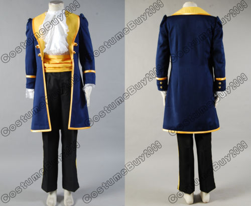 Beauty and the Beast Prince Adam Cosplay Costumes Men Anime Party Halloween Costume