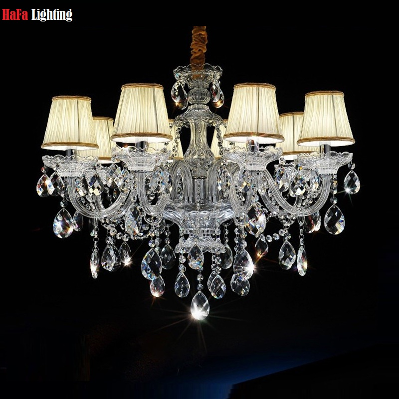 Luxury Chandelier Crystal fashion K9 Top crystal lamp lighting modern crystal Lights Include Lampshade Room chandelier lighting