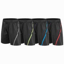 Men Kids Sports Running Shorts Pants Quick Dry Kids Running Workout Bodybuilding Pocket Tennis Gym Training Short Men Fitness ne