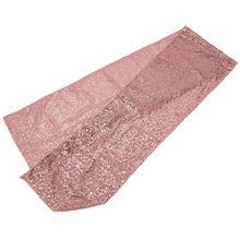 Лучшая настольная дорожка, украшения для свадебной вечеринки, блестящая ткань, розовое золото