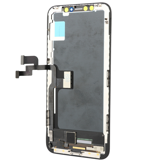2pcs AAA PROMOTION TIANMA LCD replacment for iphone X lcd display touch screen with digitizer free tempered glass 2pcs