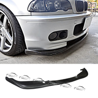 for BMW E46 M TECH M Sport Package For H Style Car Styling PU Material Front Lip Bumper Spoiler