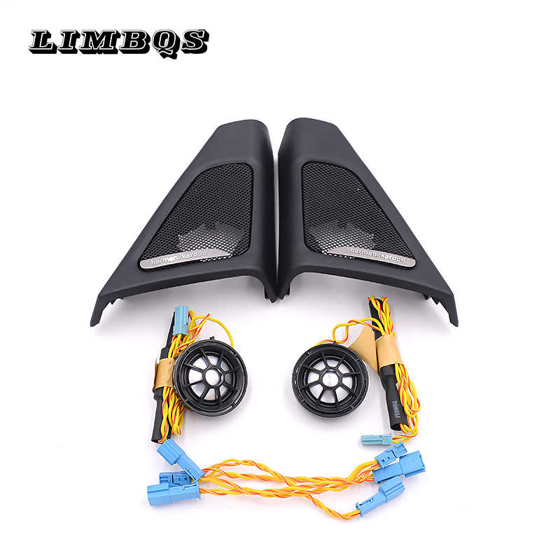 High quality tweeter covers for BMW f10 f11 5 series speakers audio trumpet head treble speaker ABS material original model fit