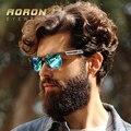 Aoron marca clásica de ocio de moda marco de metal gafas de diseño polarizadas gafas de sol de los hombres de la vendimia unisex gafas gafas de sol