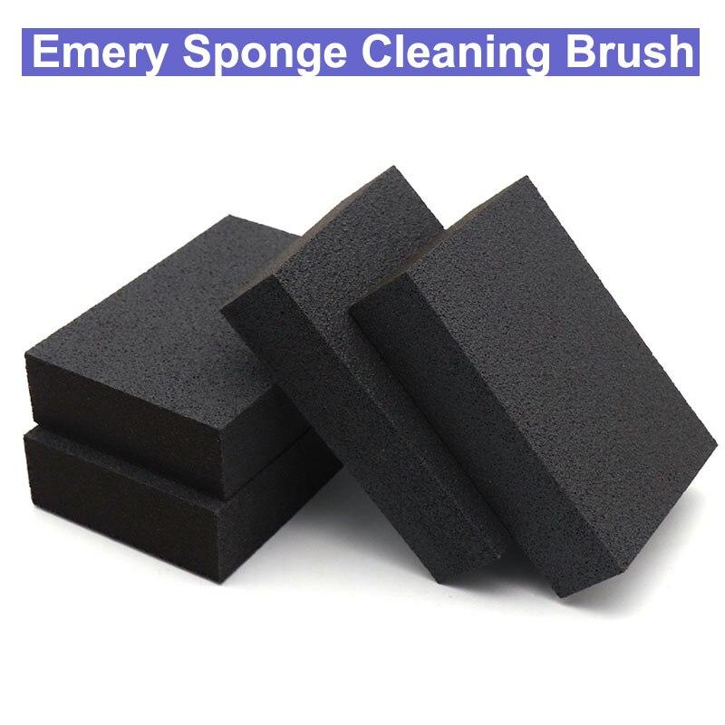URANN 1pc Magic Emery Sponge Cleaning Brush Rust Dirt Stains Clean Tool Bowl Wash Pot Cleaning Polishing Sponge Sandpaper Block