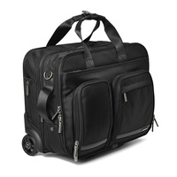 LeTrend 16 inch business trip Rolling Luggage Multifunction Suitcase Wheels Men Carry on Trolley pilot laptop bag Travel Bag