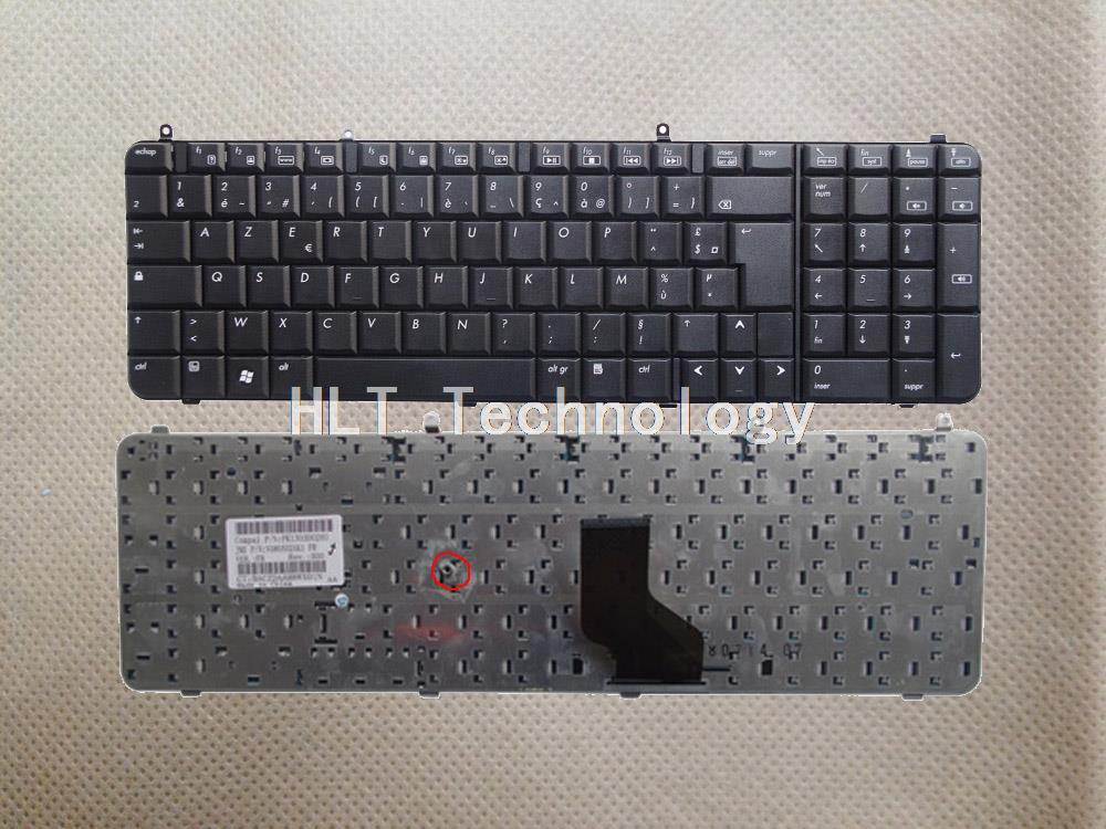 Original And New Black EU Keyboard For HP DV9000 DV9300 DV9200 DV9400 DV9500 DV9600 DV9700 Good Work!