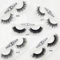 Visofree Mink Eyelashes Long Thick Dramatic Lashes Handmade Mink Fur False Eyelashes For Makeup 1 Pair Pack