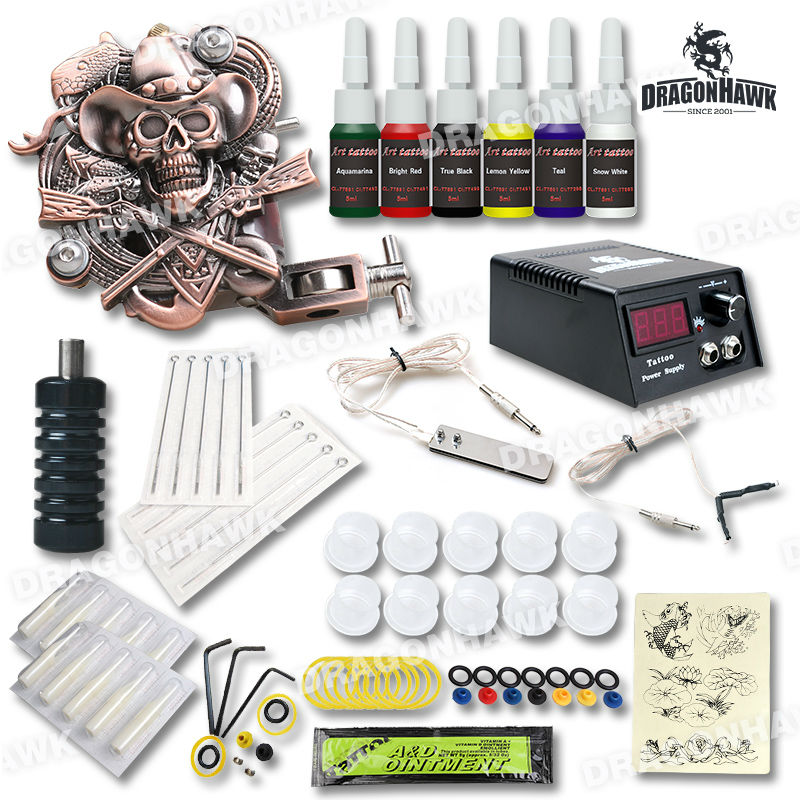 Top quality starter tattoo kit 1 1 relief tattoo for Best tattoo starter kit