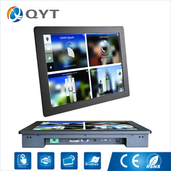 17 дюймов разрешение 1280*1024 встроенные промышленные мониторы сенсорный экран дисплей ЖК-монитор с vga hdmis порт