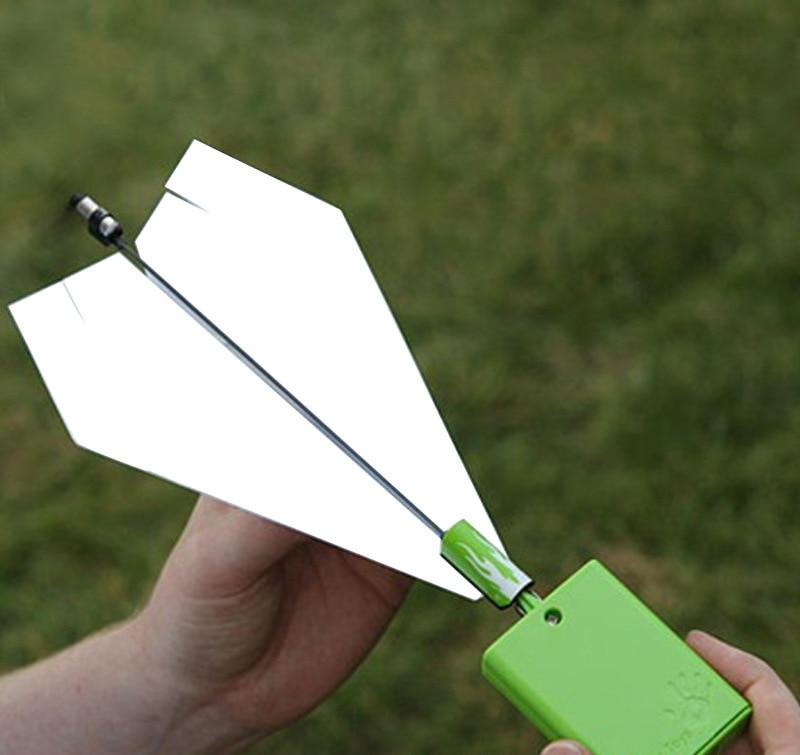 2018 New Motor Electric Paper Airplane Model Folding DIY ...