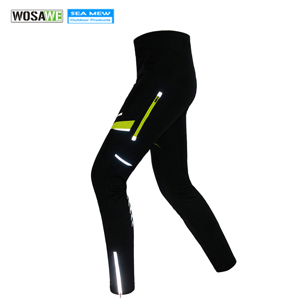 WOSAWE 2018 Spring Autumn Cycling Pants Breathable Quick Dry MTB Bike Pant Waterproof Trousers Elastic Waist Ropa Ciclismo цена 2017