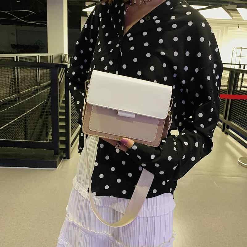Doce cor hit ombro mensageiro bolsas casuais feminina couro do plutônio aleta pequenos sacos crossbody verde preto amarelo branco