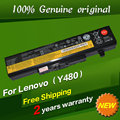 Free shipping Original laptop Battery For Lenovo G480 G485 G500 G510 G580 G585 G700 G710 K49A M490 M495 N581 N586 V480 V480C