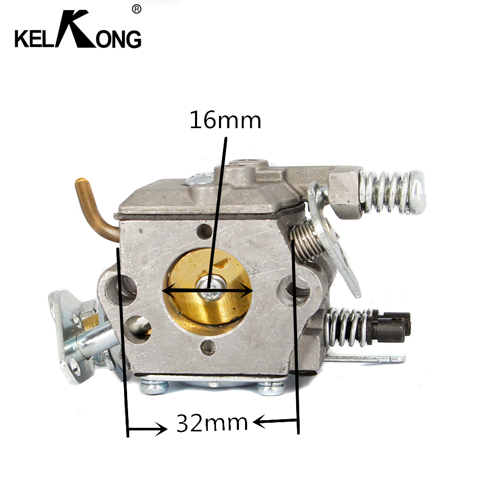 KELKONG para HUSQVARNA 136, 137, 141, 142 caliente carburador motosierra carburador reemplazo de reparación de la parte del motor de Auto carbohidratos Compatible