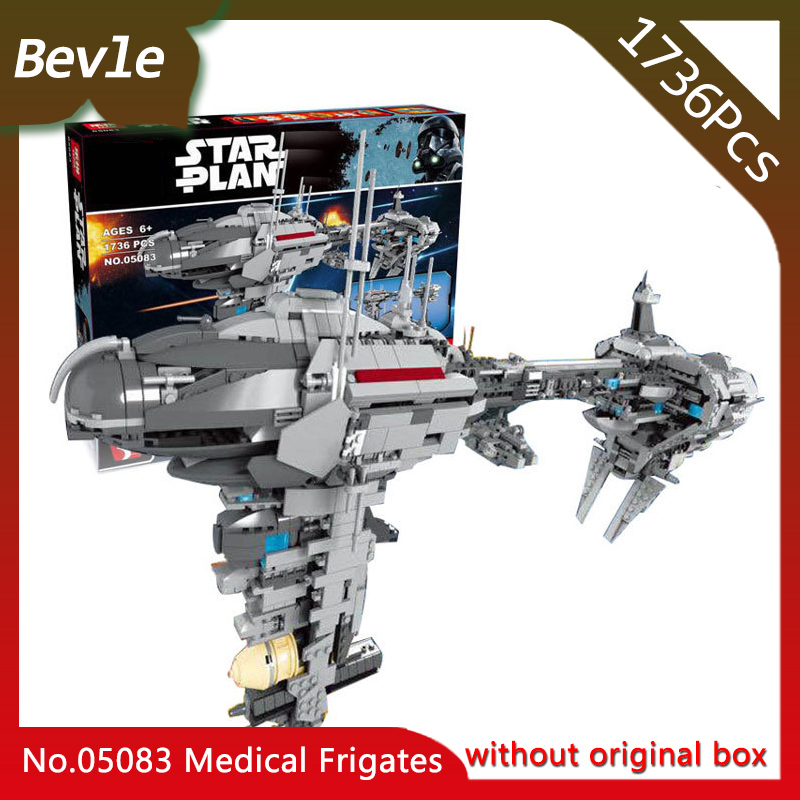 Doinbby Store 05083 1736Pcs star space Series Nebula-B medical frigate Mdoel Building Blocks Toys For Children Gift