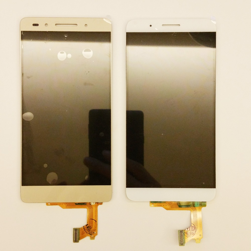 Подробнее о Black 100% New Full LCD DIsplay + Touch Screen Digitizer Assembly For Huawei Ascend Honor 7 PLk-TL01H PLK-UL00 Free shipping new lcd display touch screen digitizer assembly replacement accessories for huawei ascend honor 7 above phone lc free shipping
