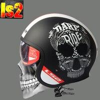 Hot Sale Ls2 Helmet Ff599 Motorcycle Helmet Jet Vintage Helmet Open Face Retro 3 4 Half