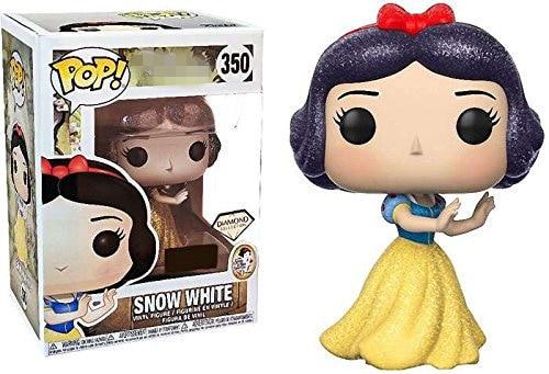 Exclusif FUNKO POP officiel blanche-neige et les sept nains (Collection diamant) #350 figurine en vinyle à collectionner modèle jouet