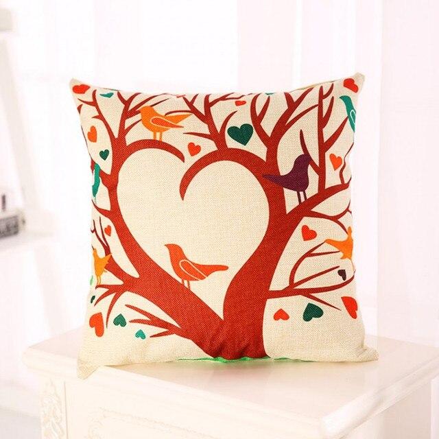 Cartoon Seat Chair Back Cushion fice Car Sofa Decorative Pillows