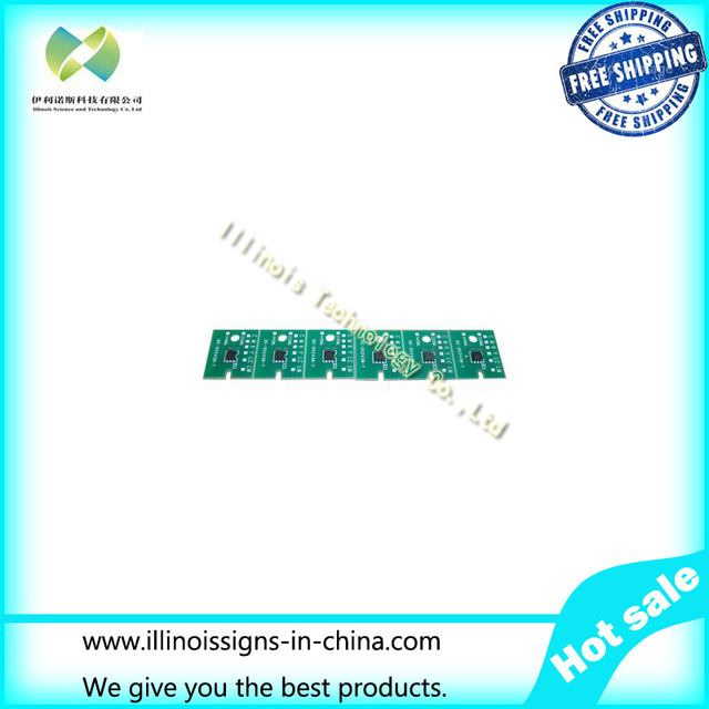 One-time Chip for Mimaki JV33 BS3 Cartridge 6 colors CMYKLCLM disposable chip
