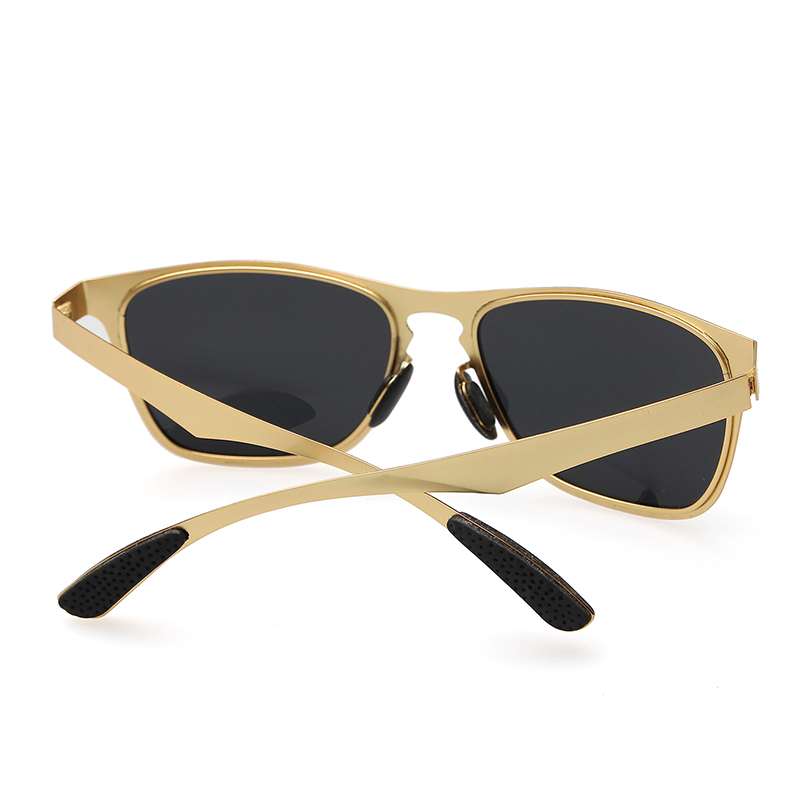 HINDFIELD Fashion Metal Sunglasses Polarized Men Sports Coating Sun Glasses Male Google Oculos De Sol