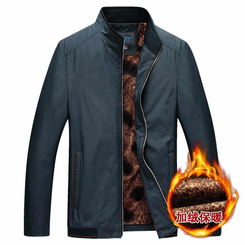 男性のジャケット/2019 春と秋ファッションの街、カジュアルスタンド襟と厚みシンプルな高品質のコート