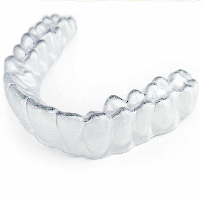 1 шт., уход за ребенком, изготовленные на заказ термоформа для рта, отбеливание зубов, отбеливающие формы, лотки для зубов, прорезыватели, прозрачный цвет