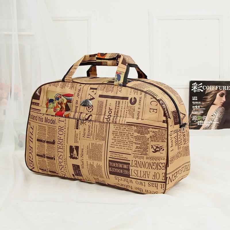 New Travel Trailers: Men Travel Bag Fashion Casual Waterproof Oxford Zipper