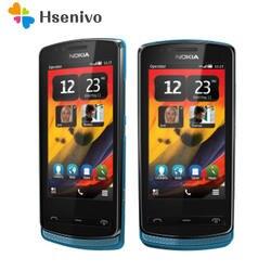 700 Оригинальный разблокированный телефон Nokia 700 телефон 3,2 '5.0MP мобильный телефон Bluetooth Wi Fi gps 512RAM + 1 Гб встроенная память Восстановленное