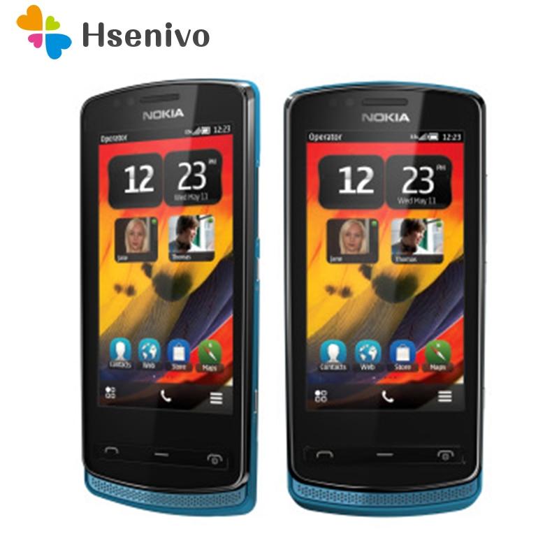 700 Original Unlocked Nokia 700 Phone 3.2' 5.0MP Mobile Phone Bluetooth WIFI GPS  512RAM +1GB ROM Refurbished Free Shipping