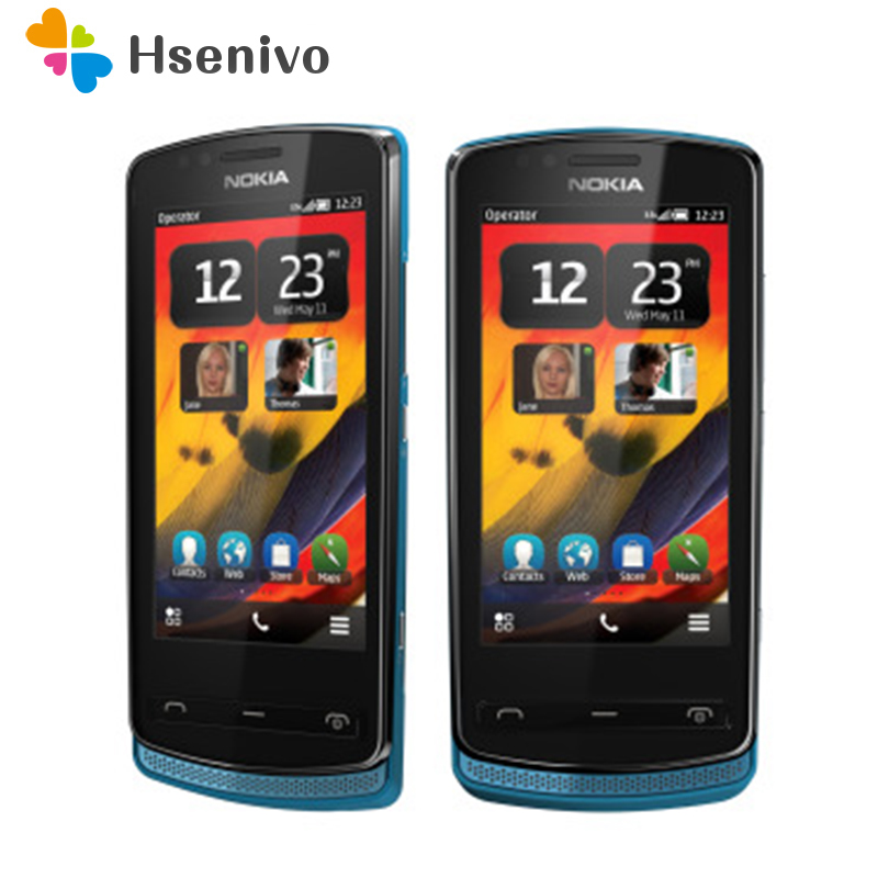 700 Original Unlocked <font><b>Nokia</b></font> 700 <font><b>phone</b></font> 3.2' 5.0MP Mobile <font><b>Phone</b></font> Bluetooth WIFI GPS 512RAM +1GB ROM Refurbished Free Shipping image