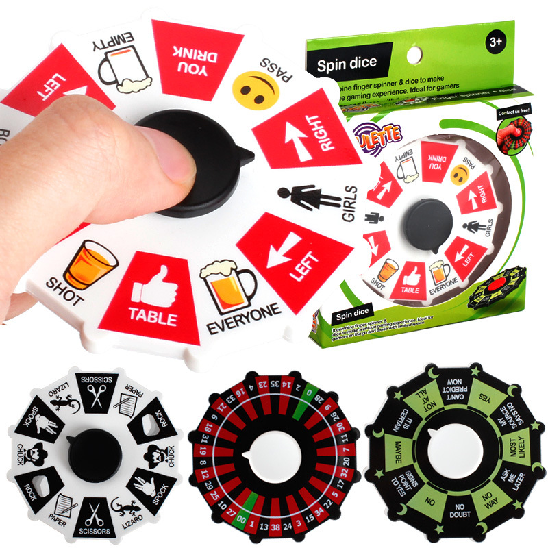 New Fidget spinner creative decompression gyro adventure game turntable gyro finger toy bar turntable