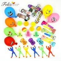 36 шт. игрушки для детей партия поддерживает поставки для девочек и мальчиков день рождения Подарочная сумка pinata goody сувениры призы обратно в...