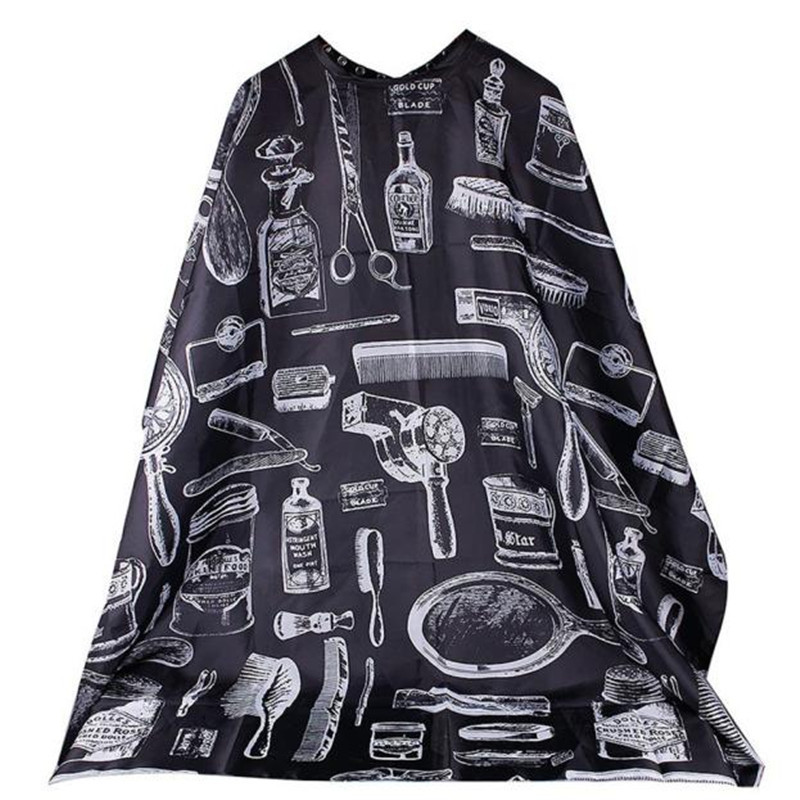 Hair Accessories 1pc Unisex Facial Hair Care Shave Haircut Apron Whisker Cape Salon Barber Home Hairdressing Cape 3.26