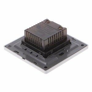 Image 4 - Regulacja przełącznik kontroli prędkości wentylatora sufitowego przycisk ścienny wyłącznik ściemniacza 220V 10A
