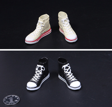 1/6 Sport Running Shoes 1/6 Scale Female Casual Sports Shoes Model with solid feet shape inside for 12