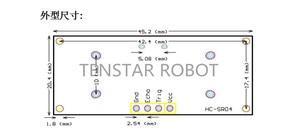 Image 5 - شحن مجاني 100 قطعة وحدة أشعة فوق الصوتية HC SR04 قياس المسافة محول الاستشعار