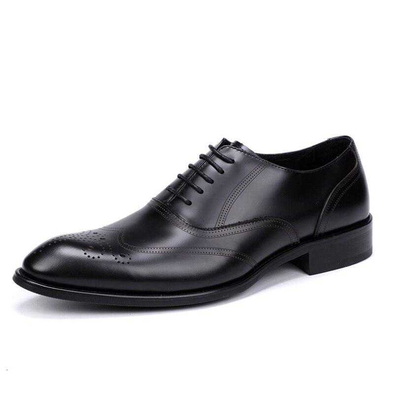 Homem 44 Genuíno Sapato Plus Do Para Casamento Oxford Sapatos Vestido Flats Homens Size Couro a0079 De Formal O Js Dos Preto Negócio 37 x0rHExwqT7