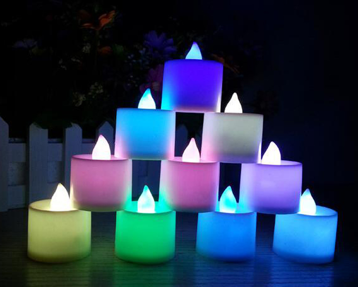 24 PACK Remote Control Christmas Decoration Party Plastic Led Tea Lights Led Candle Flameless Smokeless Led Electric Candle